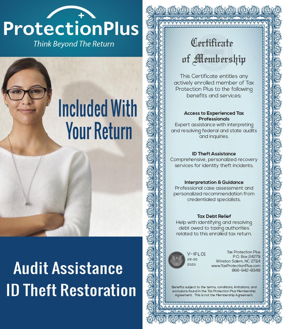 Protection Plus Membership